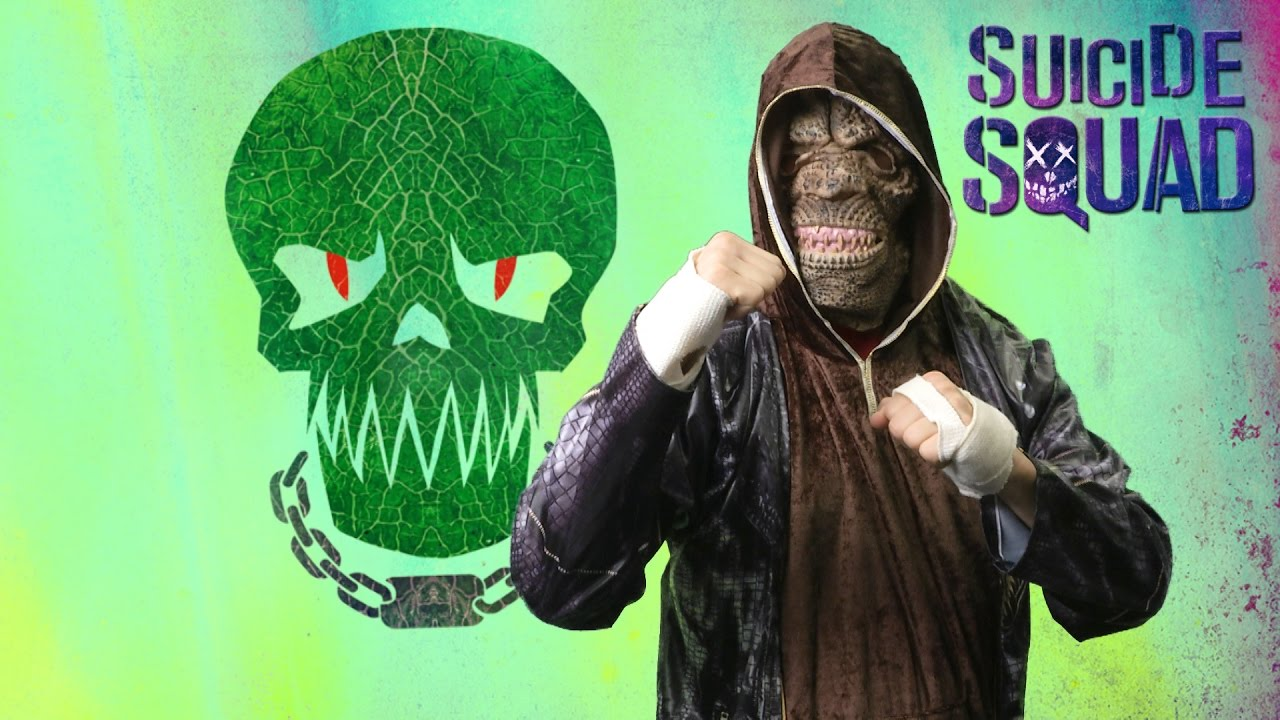 suicide squad killer croc adult costume from rubies costumes - youtube