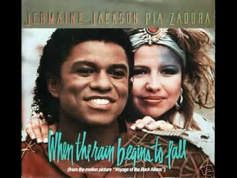 Jermaine Jackson & Pia Zadora - When the rains begin to fall