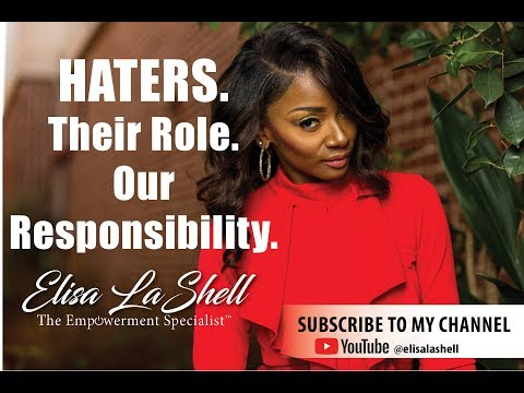 Haters: Their Role. Our Responsibility.