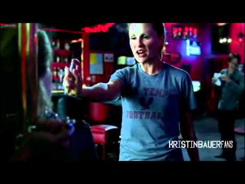 Kristin Bauer  True Blood Season 3: ''No sh*t! Auuu.''