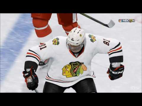 NHL 17 - Chicago Blackhawks vs Detroit Red Wings | Gameplay (HD) [1080p60FPS]