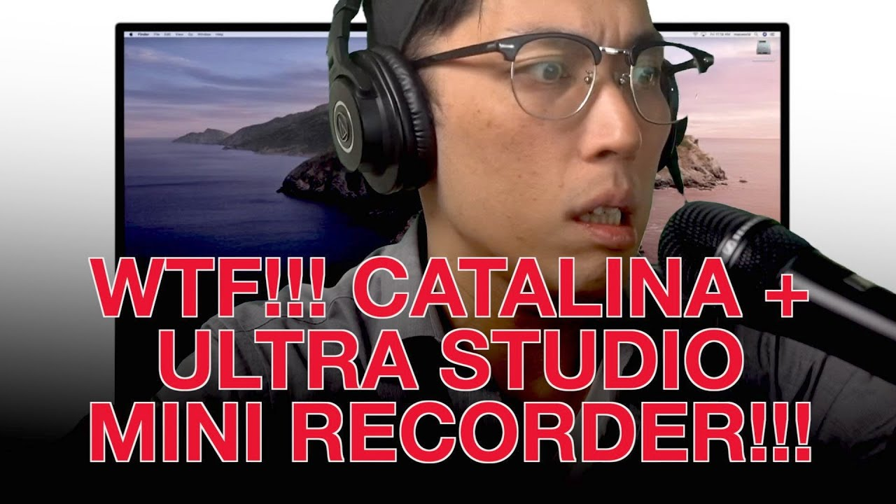 How To Fix Obs Zoom Ultra Studio Mini Recorder After Catalina Update Sort Of Youtube