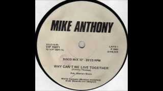 Mike Anthony - Why Can't We Live Together (12'') - 1982 Mp3