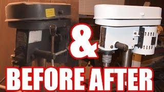 Drill Press Restoration - DIY