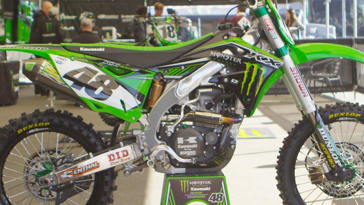 Kawasaki 250 450 4 Stroke Dirt Bike
