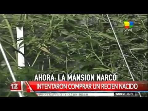 """Una mansión narco en el exclusivo barrio de """"La Horqueta"""""""