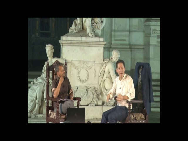 Paul Holdengräber in Conversation Sandip Roy   VMH   The Seagull Foundation for the Arts