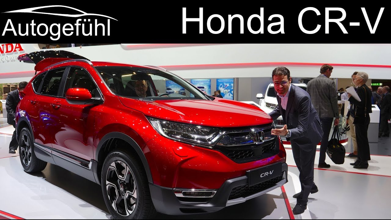 Honda CR V REVIEW All New CRV Generation 2019 2018 Geneva Motor Show