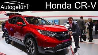 Honda CR-V REVIEW all-new CRV generation 2019 2018 @ Geneva Motor Show - Autogefühl