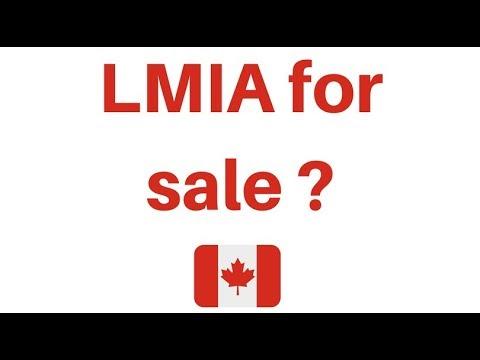 LMIA / work permit for sale  in Canada ??