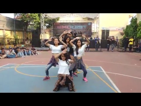 Little Army Crew (Modern Dance - Shuffle Dance) at SMA Yadika 4