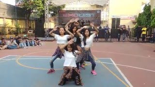 Little Army Crew (Modern Dance - Shuffle Dance) at SMA Yadika 4