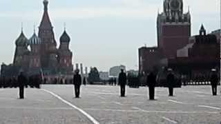 piazza rossa, inno russo luglio 2012