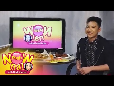 Push Now Na: Does Darren Espanto want to be a movie actor?