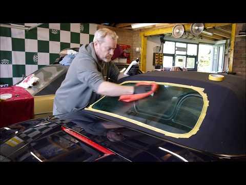 Meguiars Plastx RX  Softop window  clean test - Vintage Steel Garage Ep 34