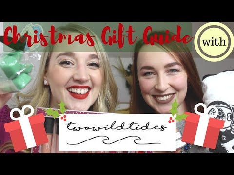Christmas Gift Guide with TWO WILD TIDES