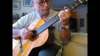 O barquinho (Little Boat) - Roberto Menescal & Ronaldo Bôscoli - acoustic guitar - bossa nova
