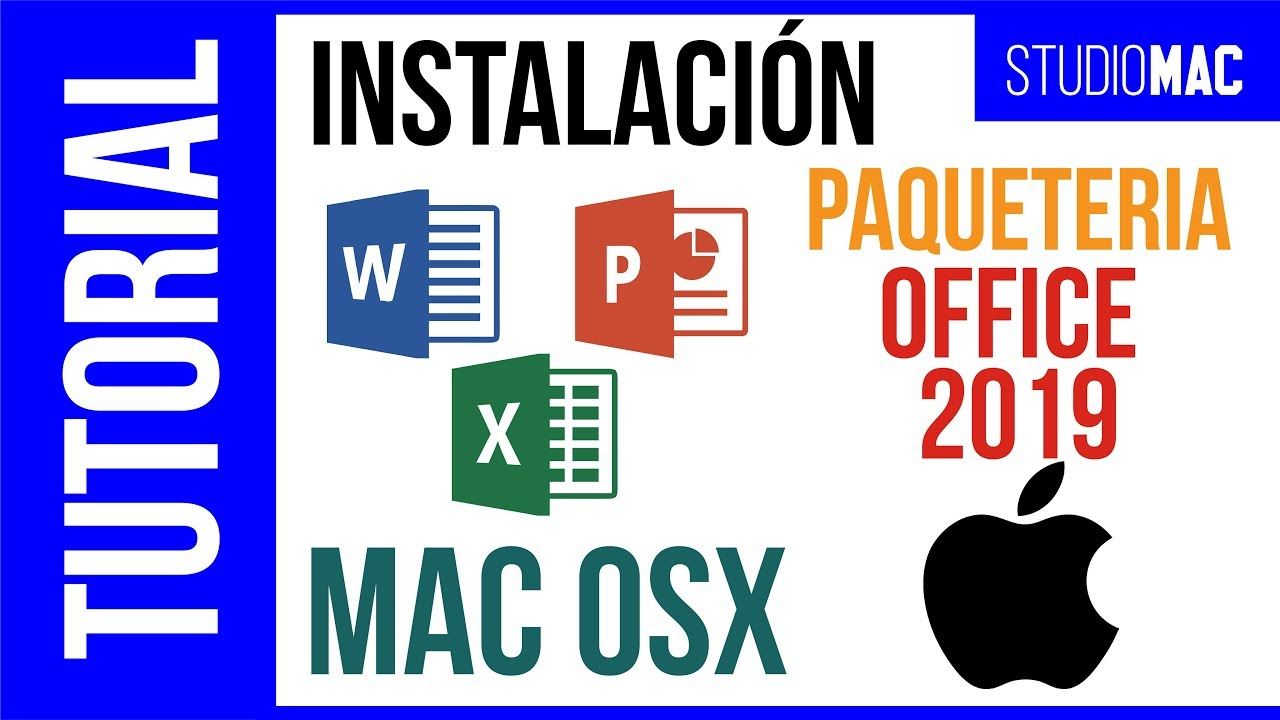 INSTALAR PAQUETERIA OFFICE 2019 MAC  | MAC | …