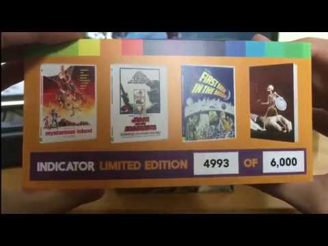 Ray harryhausen volume two 19611964 Blu Ray unboxing