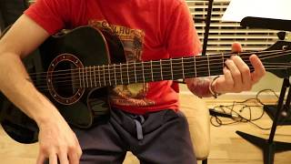 How to Play So Far Away Bridge Interlude Acoustic by Avenged Sevenfold Guitar Tutorial
