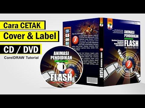 Cara Cetak Cover CD Dan Label CD Dengan CorelDRAW - Tutorial Coreldraw