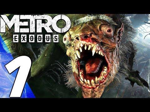 Metro Exodus Gameplay Walkthrough Part 1 Prologue