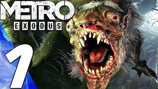 METRO EXODUS - Gameplay Walkthrough Part 1 - Prologue (Full Game) PS4 PRO