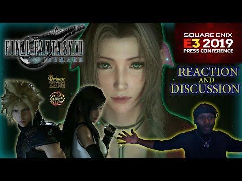 FF7 Remake Square Enix E3 Presentation! [REACTION+DISCUSSION]