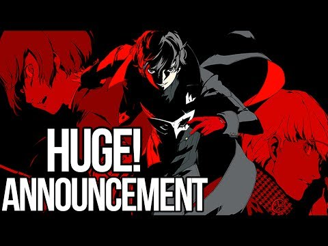 Persona 5 - Huge Announcement Coming Soon
