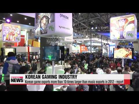 Korean gaming industry taking off around the world