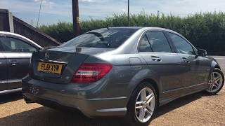 2011 MERCEDES-BENZ C-CLASS 2.1 C220 CDI BLUEEFFICIENCY SPORT ED125   FOR SALE | CAR REVIEW VLOG