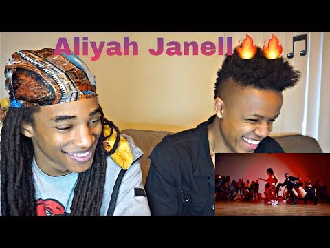 ( THEY'RE UNREAL😱😱🔥🔥 )  WIT THE SH**TS | Meek Mill | Aliya Janell Choreography |*REACTION