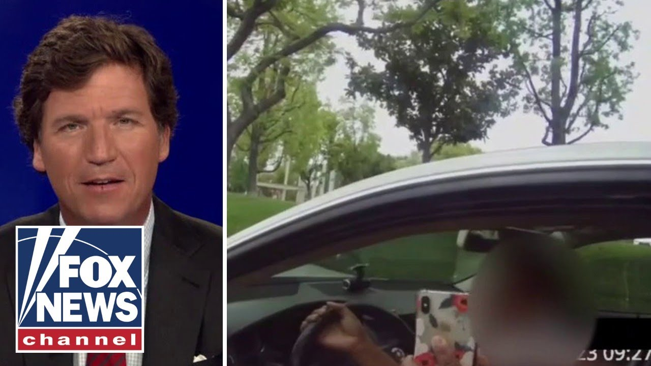 Tucker obtains bodycam footage of driver hurling racial abuse at cop