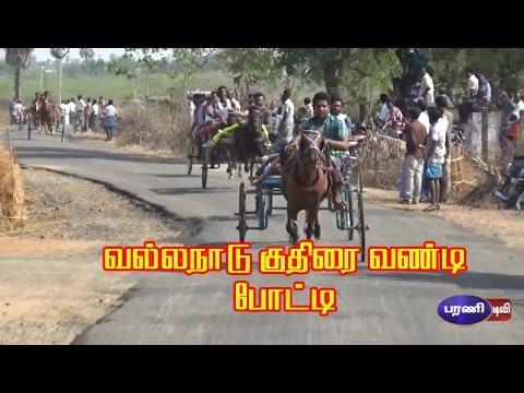 வல்லநாடு குதிரை  வண்டி போட்டி -  Vallanadu Horse Racing Competition