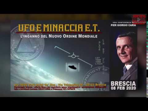 UFO E MINACCIA ET l'inganno del Nuovo Ordine Mondiale BRESCIA