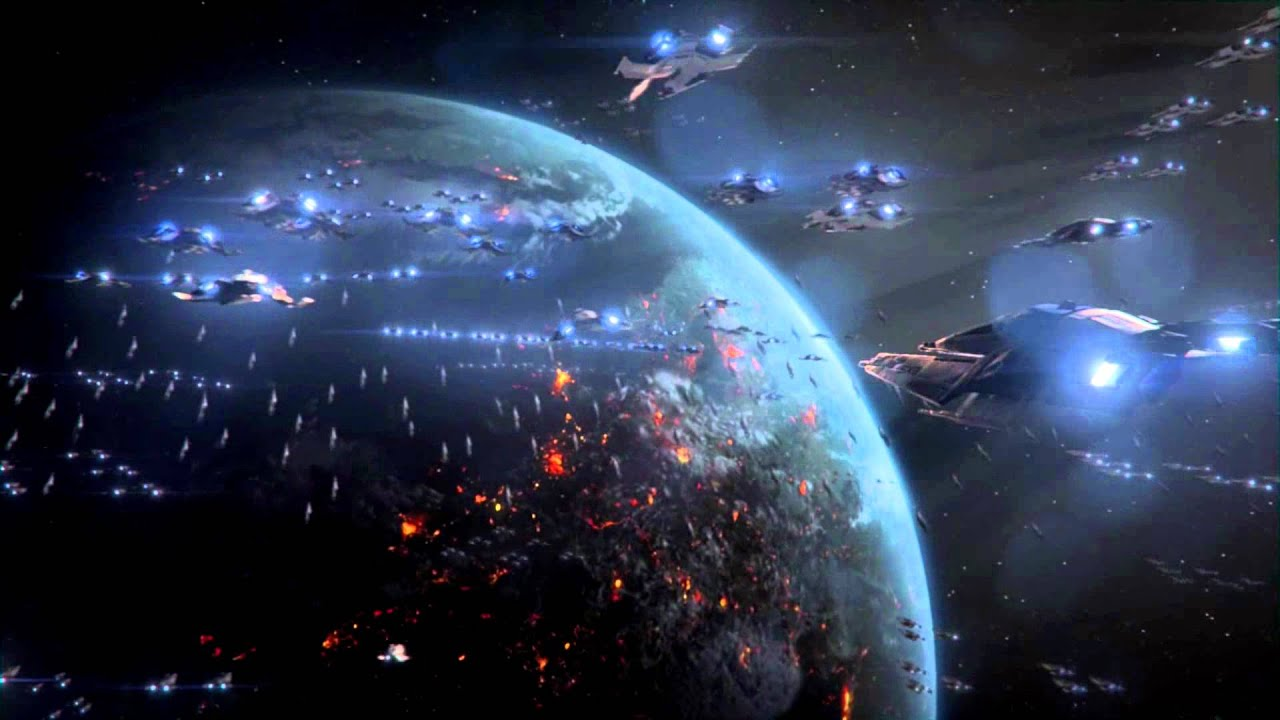Mass Effect 3 Perfect Space Battle Full HD (Over 5000 War Assets) German in 3D - YouTube
