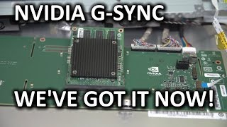 NVIDIA G-SYNC Tech Preview - Linus & Slick