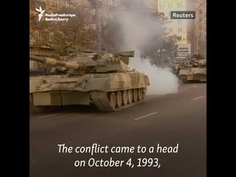 25 Years Ago: The Day The Russian White House Was Shelled