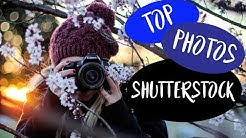 My 10 top-selling photos on Shutterstock (stock photography ideas) - increase passive income!