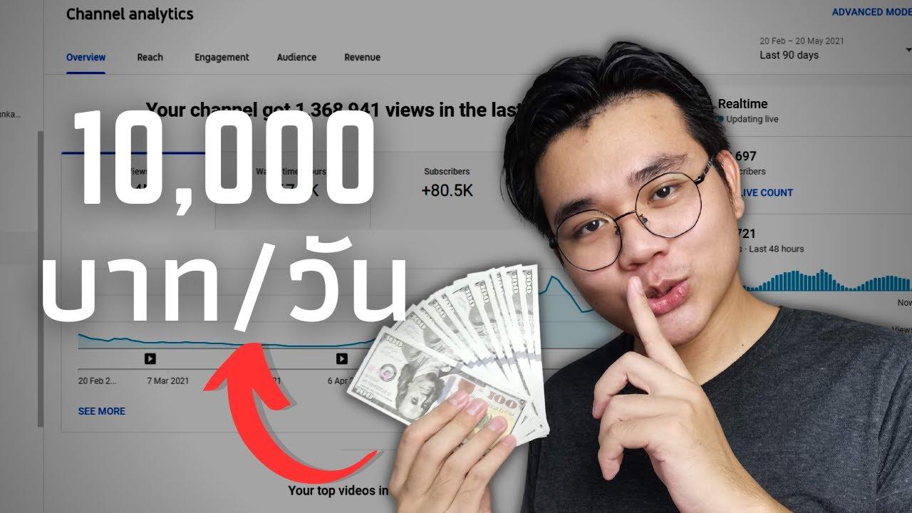 6ไอเดียPASSIVE INCOME   ผมทำได้ยังไง10,000บาท/วัน