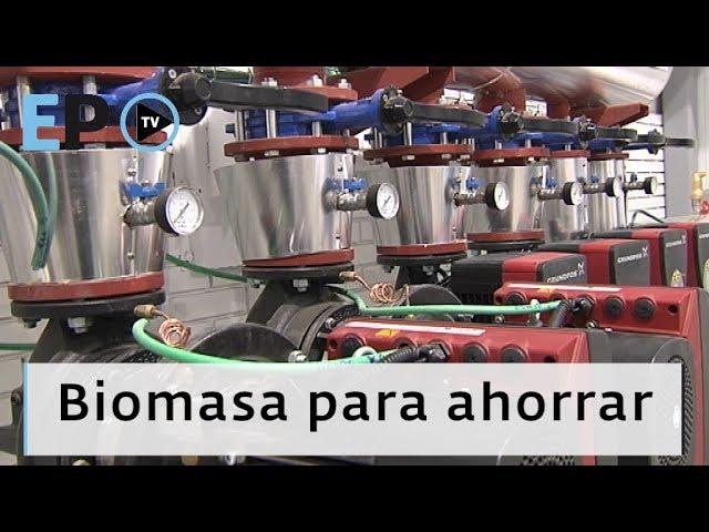 Lugo instala una red de calor con biomasa para ocho instalaciones en Frigsa
