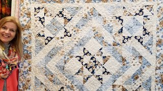 Donna's FREE pattern - Five Star Quilt!