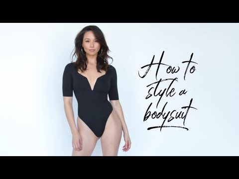 361d9370e8f4 How To Style A Bodysuit | Try On Haul | Aja Dang - YouTube
