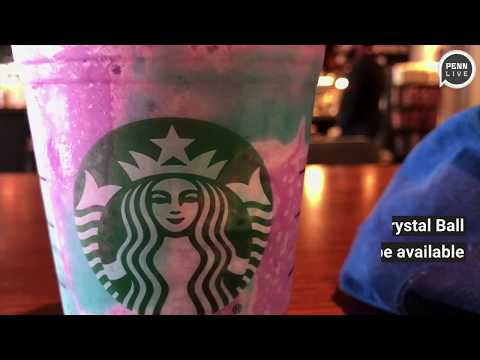 Starbucks has fans gazing into new Crystal Ball Frappuccino