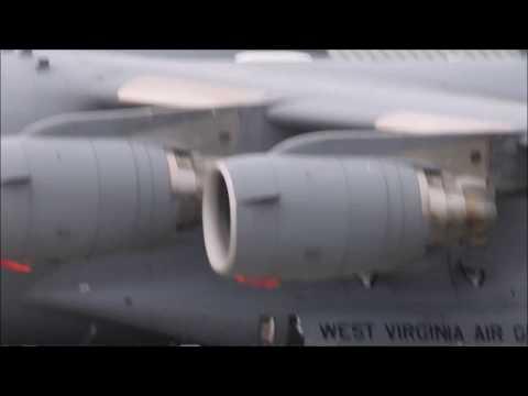 Eastern WV Regional Airport (MRB)- C-17s