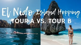 EL NIDO ISLAND HOPPING: TOUR A VS. TOUR B