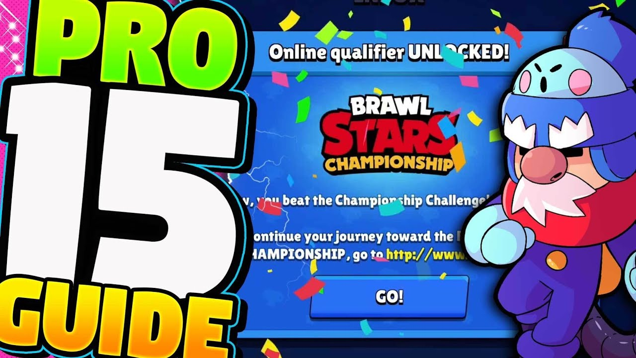 July Championship Challenge SECRET WEAPON for 15 wins in Brawl Stars