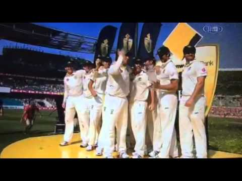 Australia celebrates Ashes whitewash:)