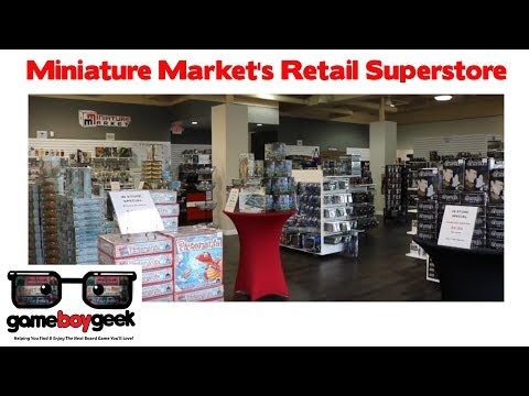 Take A Tour Of Miniature Market's New Retail Superstore!