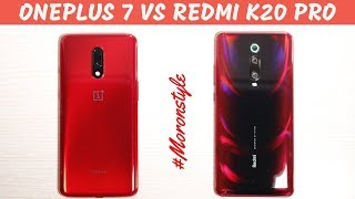 Redmi K20 Pro vs Oneplus 7 Comparison, which one is for you?